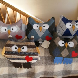 Brook Ridge Farm: Decorative Owl Pillows
