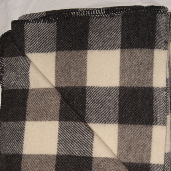 Brook Ridge Farm: black, grey and natural checkerboard