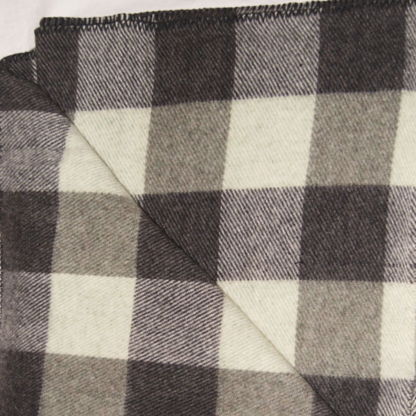 Brook Ridge Farm: green tweed, grey and black checkerboard