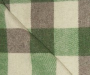 Green Tweed, Kelly Green and Grey Checkerboard
