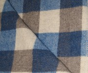 Royal Blue, Light Grey and Dark Grey Checkerboard