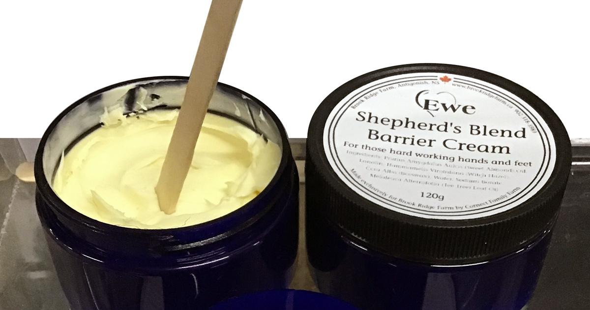 Shepherd's Blend Barrier Cream - Brook Ridge Farm